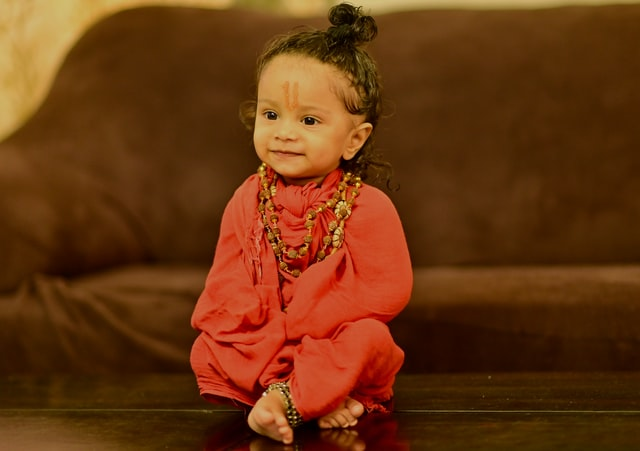 Hindu baby girl names have their roots from the Holy books.