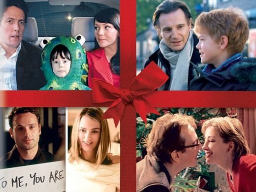 Four couples on the promotional poster of the film Love Actually.