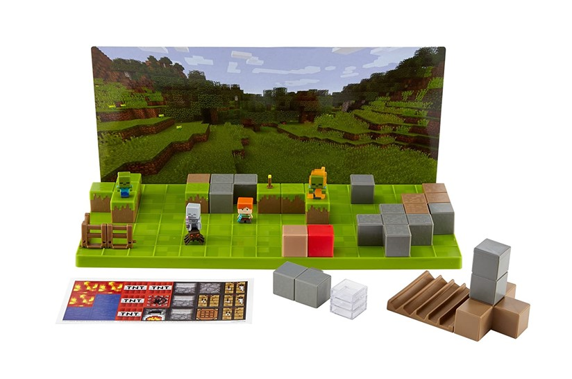 Amazing set of Minecraft stop motion creator perfect for aspiring to make movies.