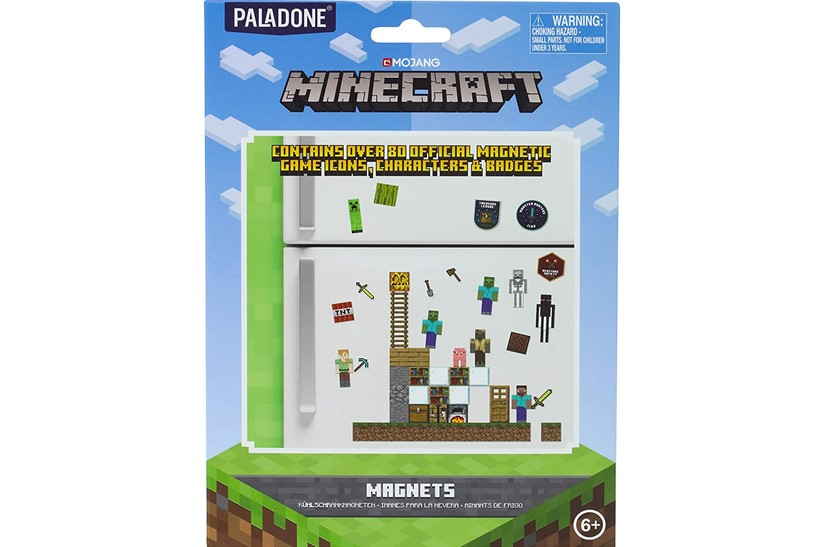Fun and attractive magnetic minecraft icons, characters and badges perfect for designing such as fridge.