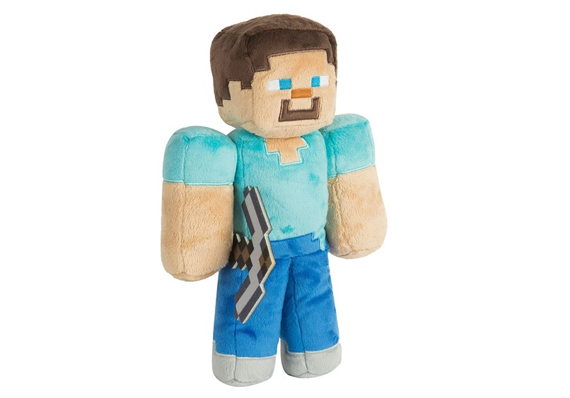 Cute and huggable soft stuff toy of Minecraft perfect for kid's cuddle toy.
