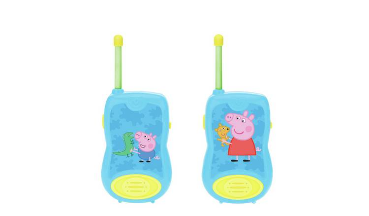 Peppa Pig Walkie Talkies.