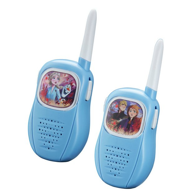 Frozen Walkie Talkies.