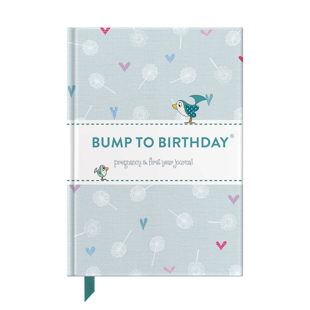 From Me To You Bump To Birthday Journal