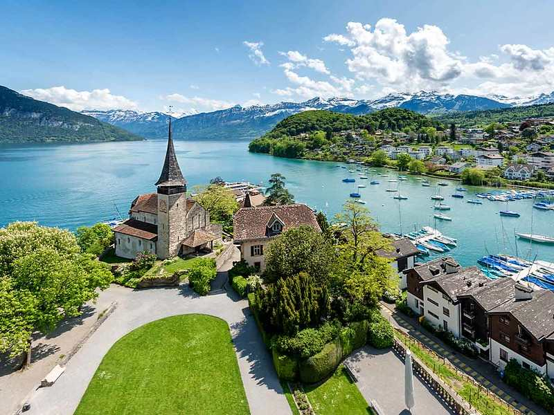 Switzerland is a beautiful country with German, (Middle) High German, French and Italian influences making their names interesting.