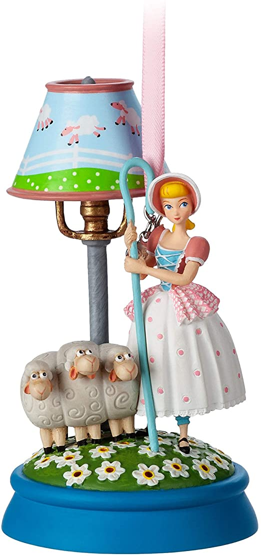 Disney Bo Peep Hanging Light Up Ornament