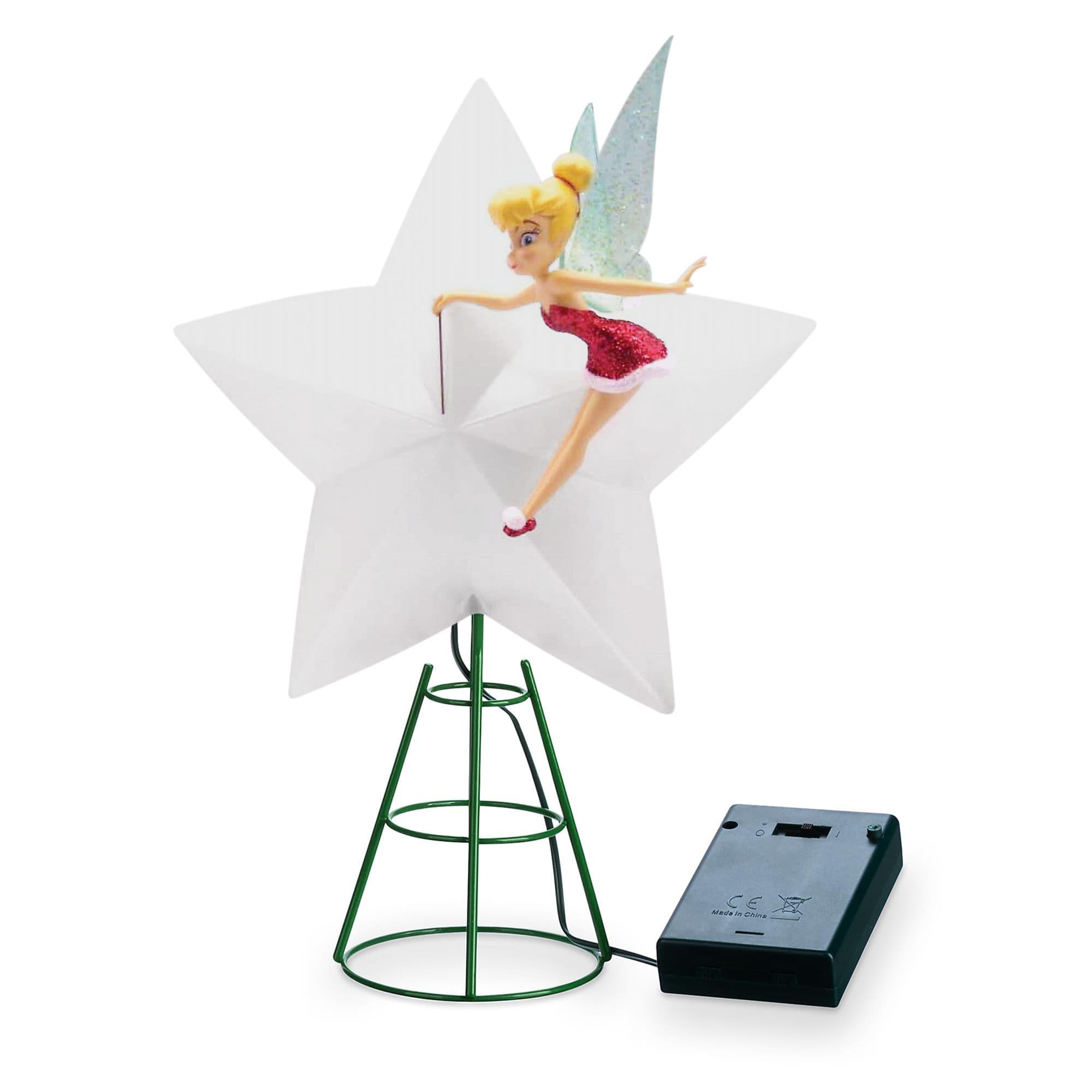Walt Disney World Tinker Bell Holiday Cheer Light Up Tree Topper