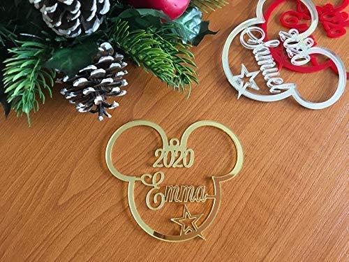 Disney Mickey Mouse Head Christmas Tree Decoration 2020