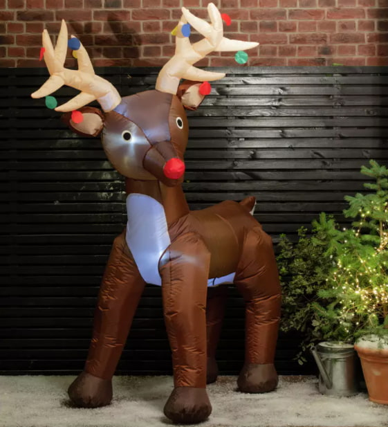 Argos Home Inflatable Rudolph