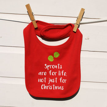 Juliet Reeves Designs Sprouts For Life Bib