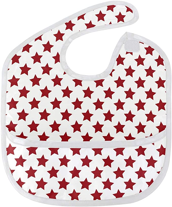 Catcher Christmas Weaning Waterproof Toddler Bib