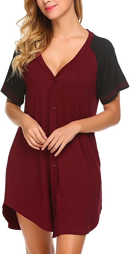 Women's Maternity Nursing Nightdress, Adome.