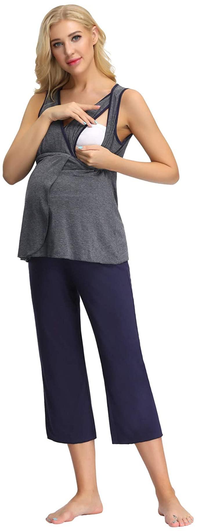 Wome Ultra Soft Maternity & Nursing Pyjama Set, Zexxxy