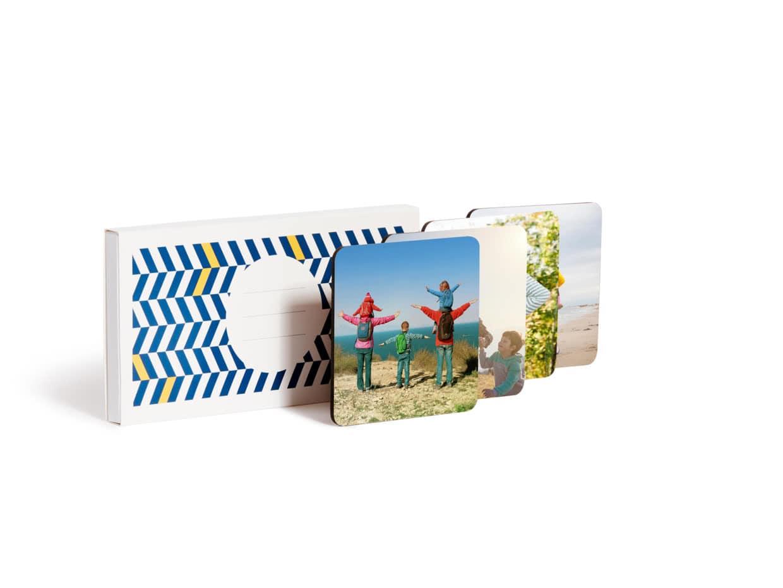 Personalised Photo Coasters - Photobox