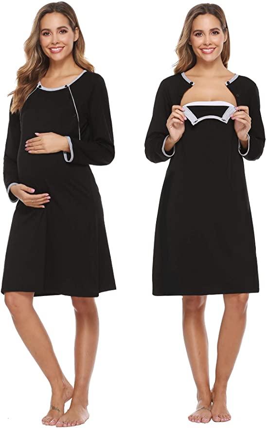 Women's Breastfeeding Dress, Sykooria.