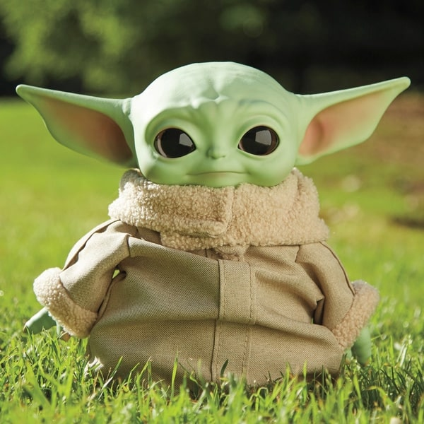 "Star Wars - The Child ""Baby Yoda"" Plush Collectible Figure - Smyths Toy"