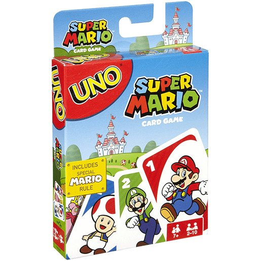 Super Mario Uno Card Game - The Entertainer