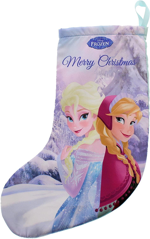 Disney Frozen Stocking With Anna And Elsa Design.