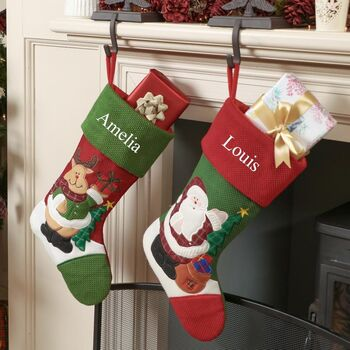 Personalised Traditional Stockings