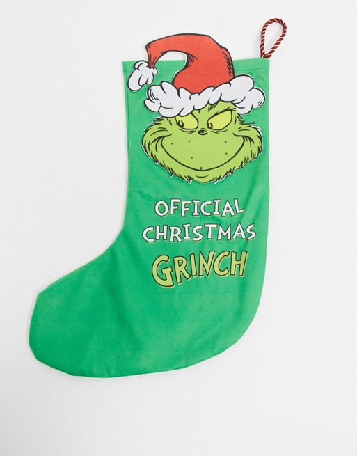 The Grinch Christmas Stocking.