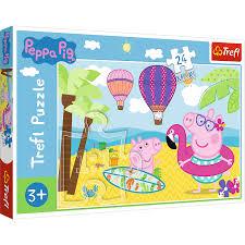 Trefl Peppa Pig Peppa's Holidays Puzzle.