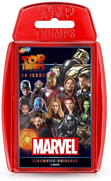 Top Trumps Marvel 3D