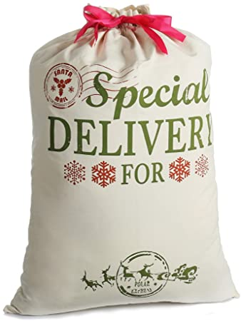 Skyocean Personalised Santa Sacks.