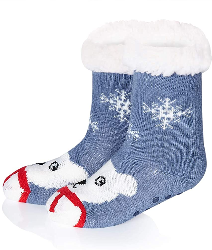 Belovecol Christmas Slipper Socks