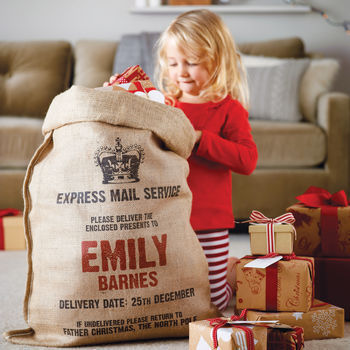 Harrow & Green Personalised Christmas Sack.