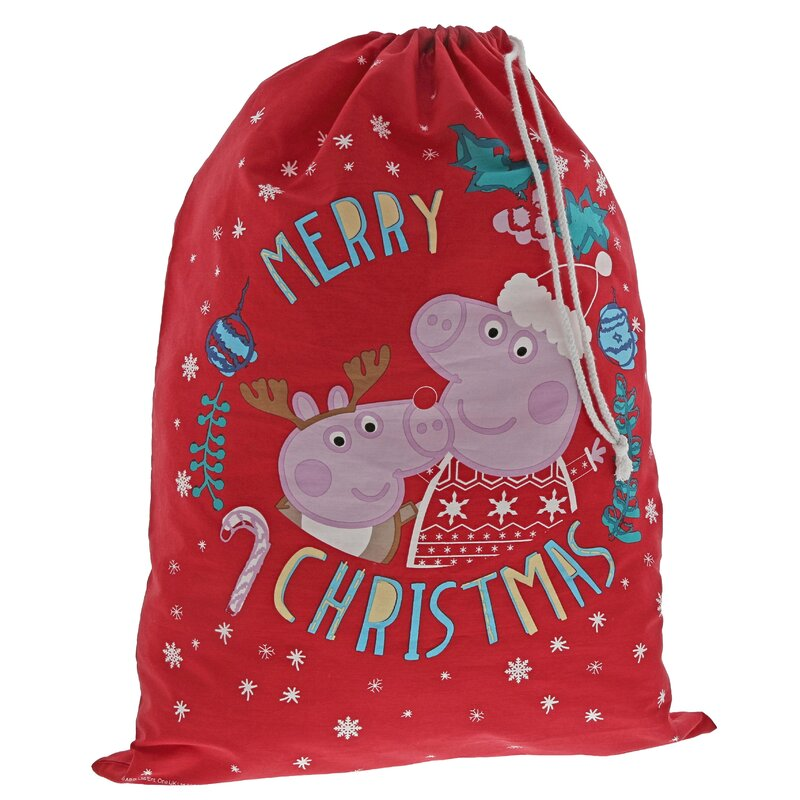 Peppa Pig Christmas Sack.