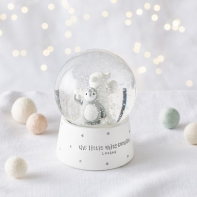 The White Company Snowy & Lumi Snow Globe