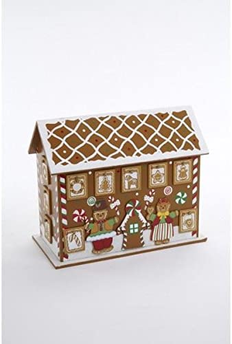 Heaven Sends Wooden Gingerbread House Advent Calendar.