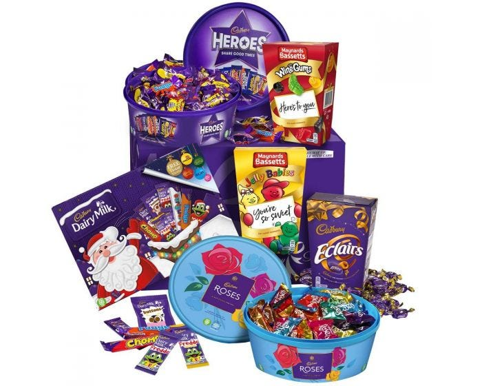 Cadbury Christmas Hamper - Cadbury.