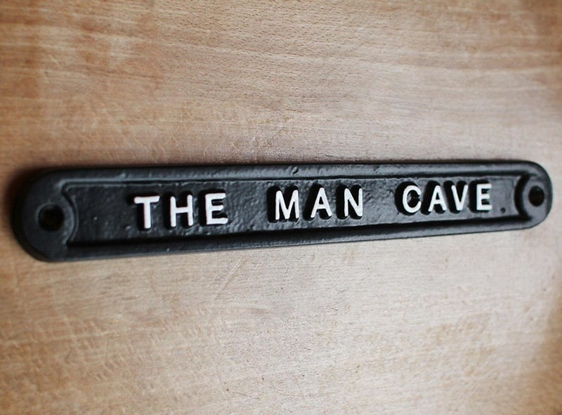 Vintage Man Cave Sign - Yester Home