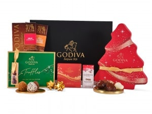 Home For Christmas Hamper - Godiva