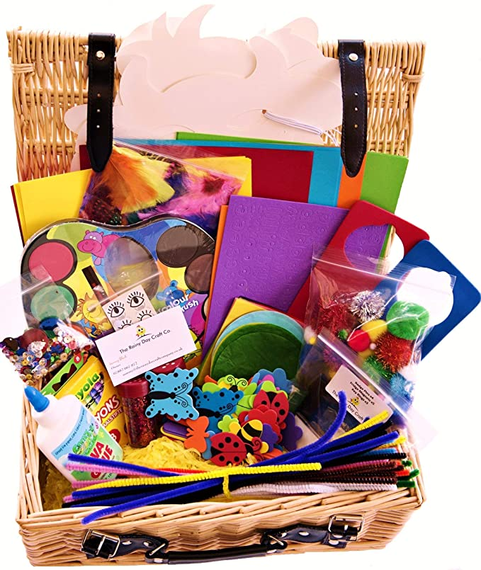 Kids Craft Set - The Rainy Day Hamper.