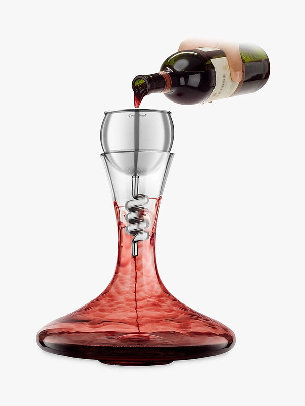 Stainless Steel Twister Aerator and Decanter - Final Touch