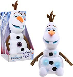 Argos Disney Frozen 2 Sing And Swing Olaf Soft Toy.