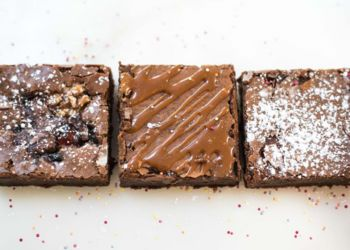 Chocolate Brownie Box - Shortbread Gift Company