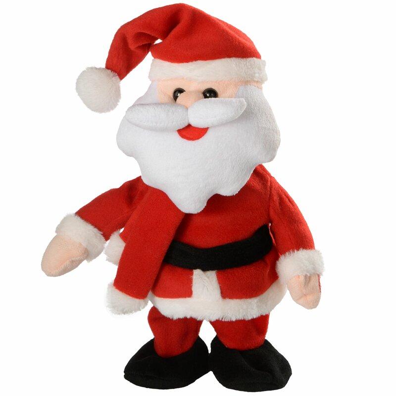 Wayfair Dancing And Singing Santa.