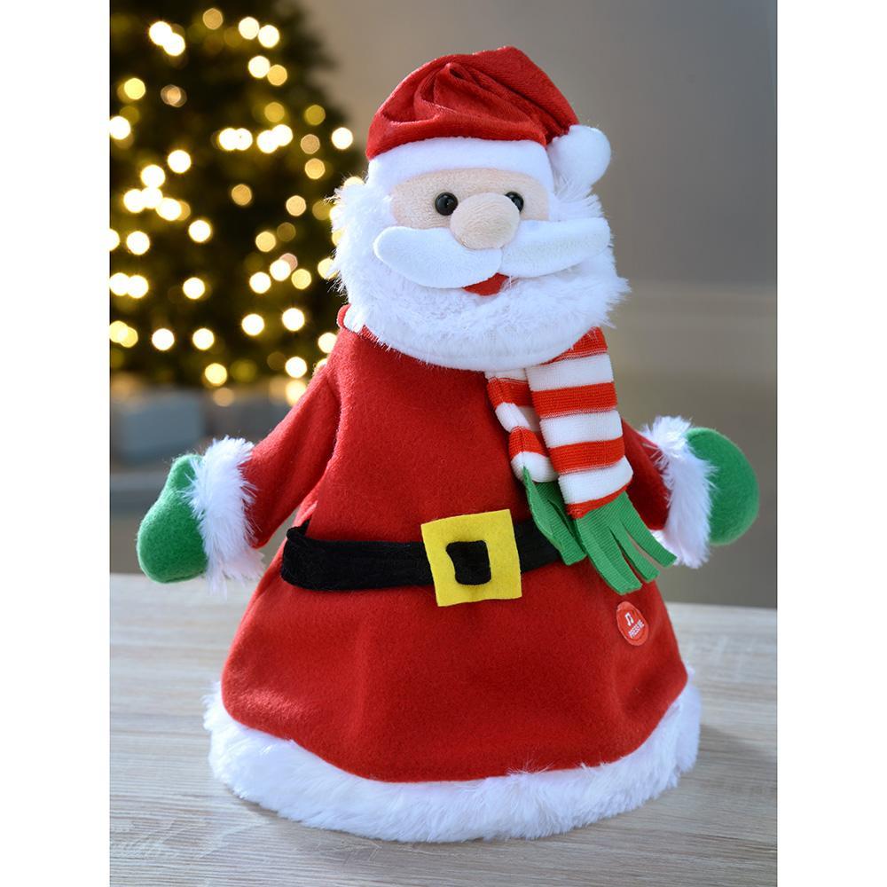 WeRChristmas Singing & Clapping Santa Hat.