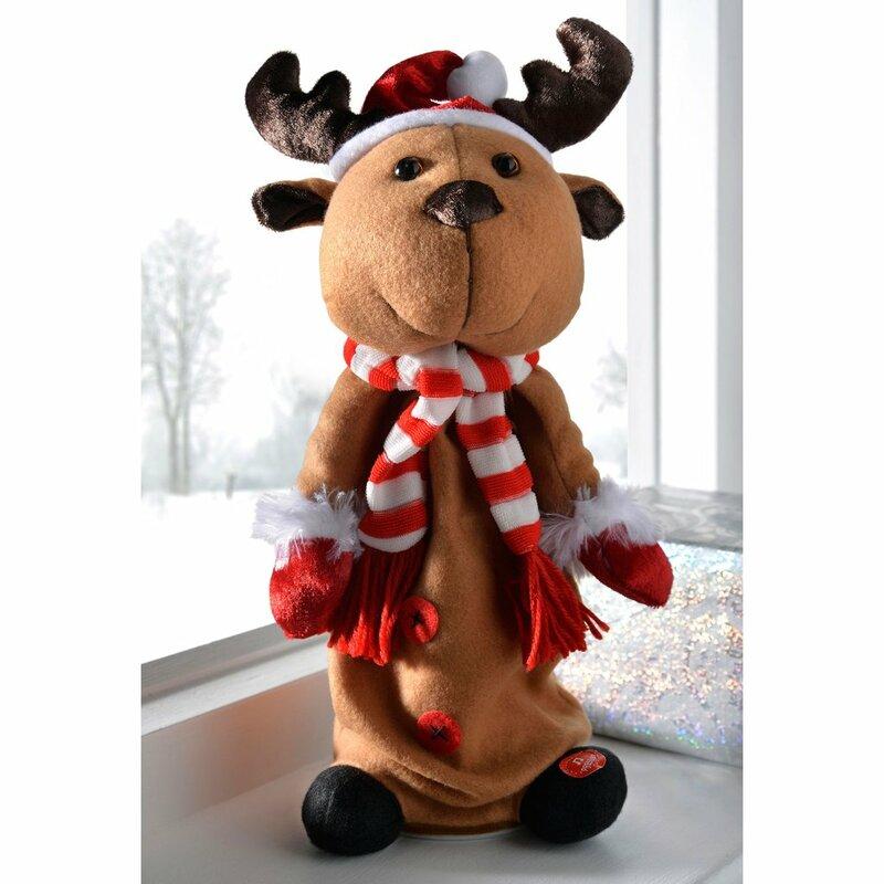 Wayfair Christmas Jumping And Singing Reindeer.