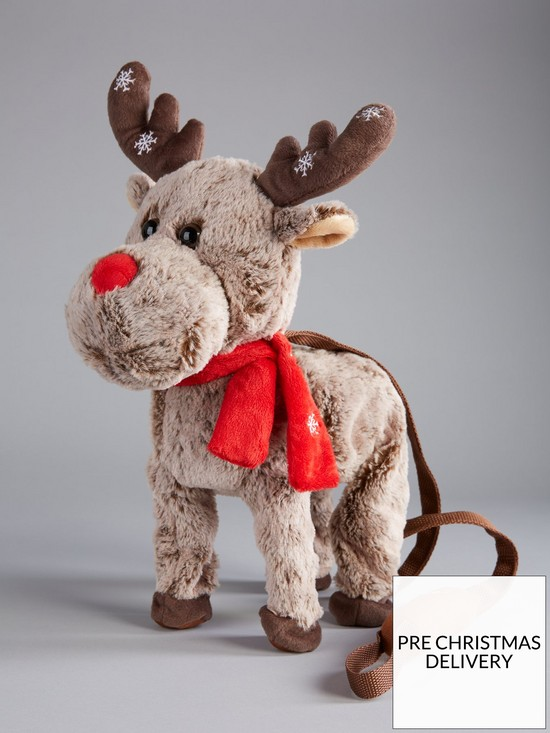 Festive Animated Walking And Singing Reindeer From Very.