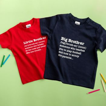 Brothers Definition T-Shirt Set - Strives Creatives