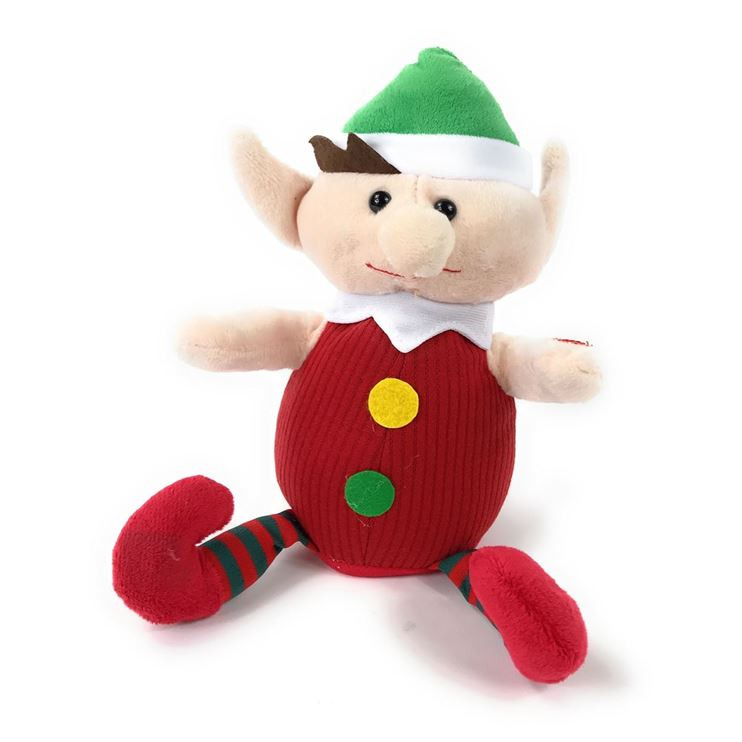 Happy Animated Singing Christmas Elf.