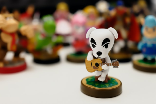 You can name your characters and towns in Animal Crossing.