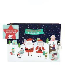 Card Factory Santa Claus Christmas Eve Surprise Box.