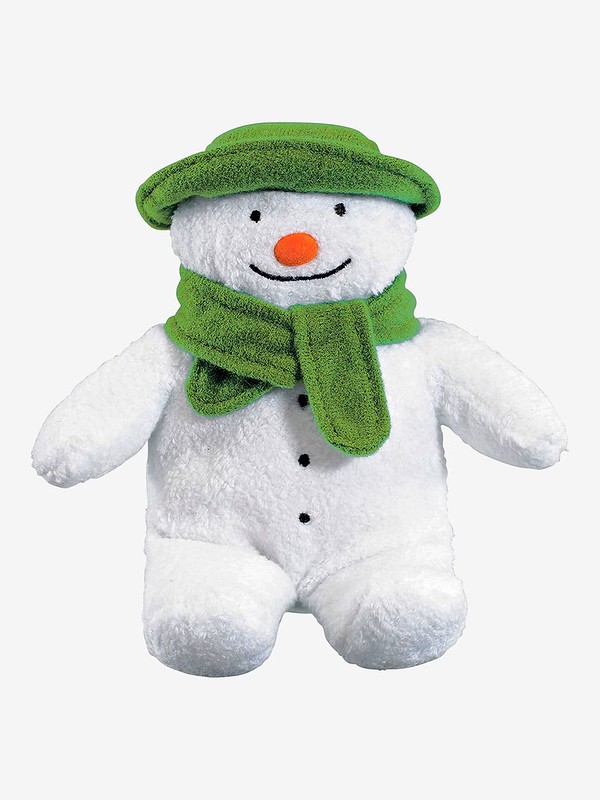 The Snowman Bean Toy - Jojo Maman Bebe