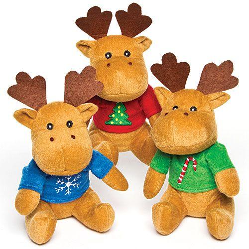 Reindeer Jumper Plush Pals - Baker Ross