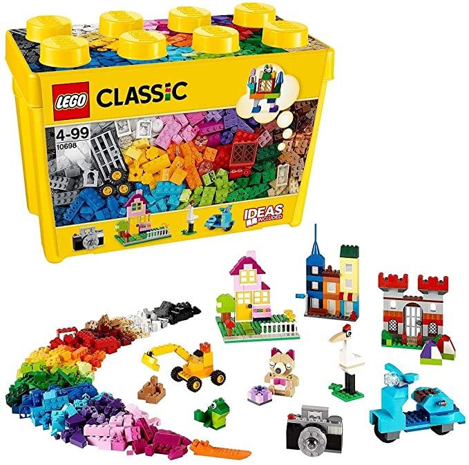 Lego Classic Large Creative Brick Box Construction Set.